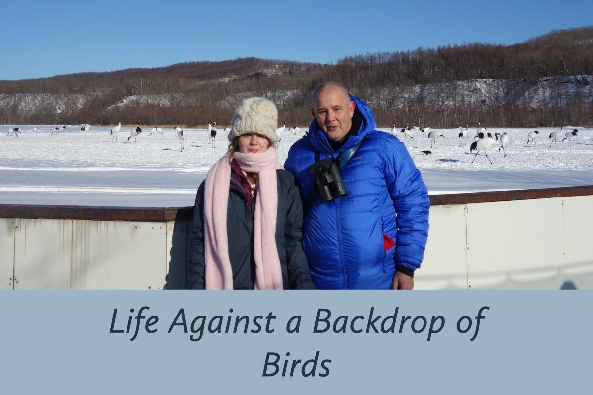 Nick Watmough in Hokkaido, December 2016